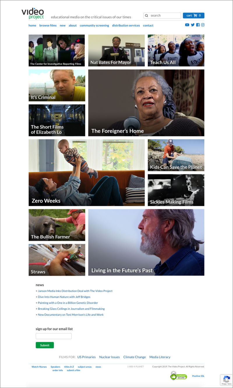 The_Video_Project_Homepage_02202019